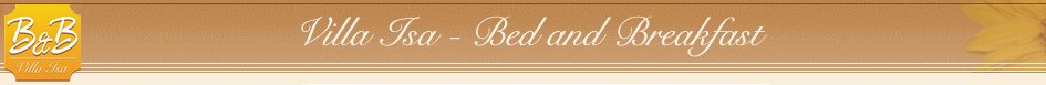Bed and breakfast Carrara B&B Villa Isa - B&B in provincia di Massa Carrara